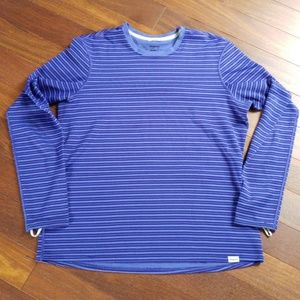Patagonia | Blue Striped Active Top L
